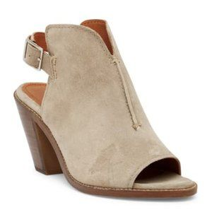 Frye Courtney Sling Block Heel Sandals Booties